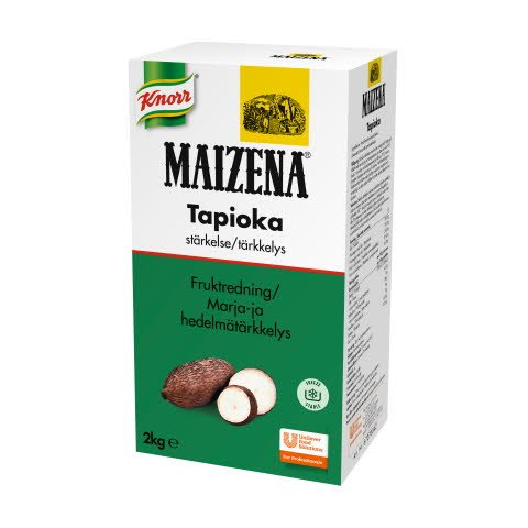 Maizena Marja- ja Hedelmätärkkelys Tapioka 2 kg x 4