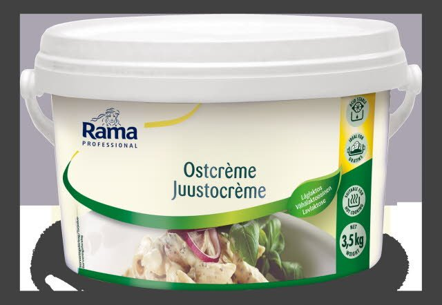Rama JuustoCrème, sulatejuustopohjainen valmiste 3,5 kg, vähälaktoosinen -