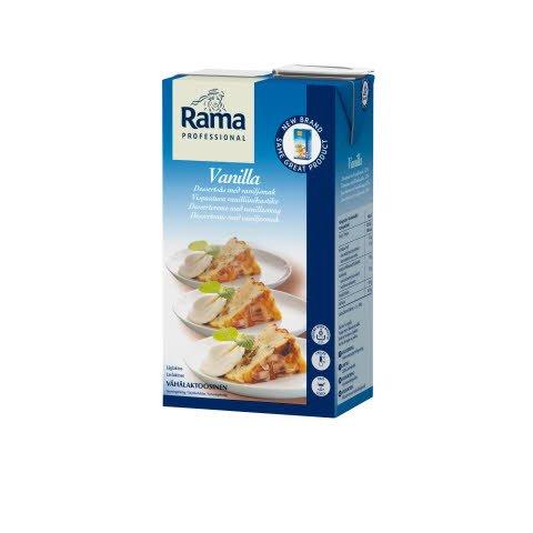 Rama Professional Vanilla, vispautuva vanilliinikastike 1 L