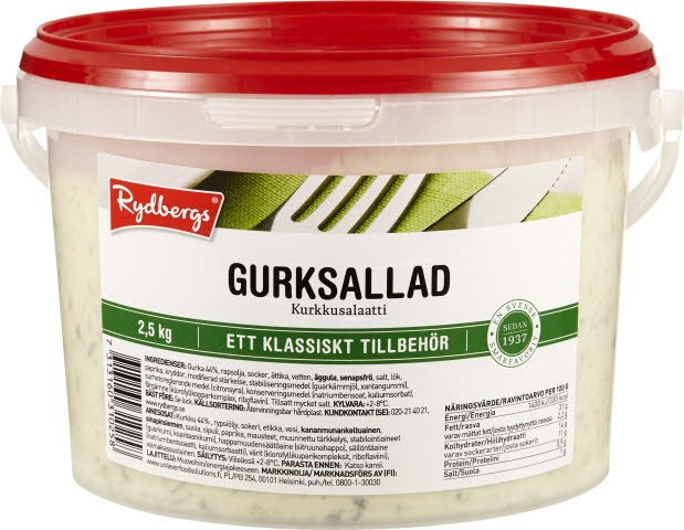 Rydbergs Kurkkusalaatti 2,5kg