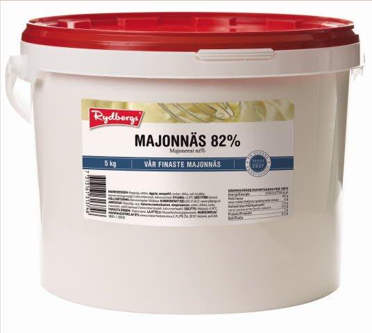 Rydbergs Täysmajoneesi 82% 5kg