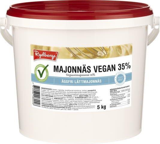 Rydbergs Vegaanimajoneesi 35% 5kg