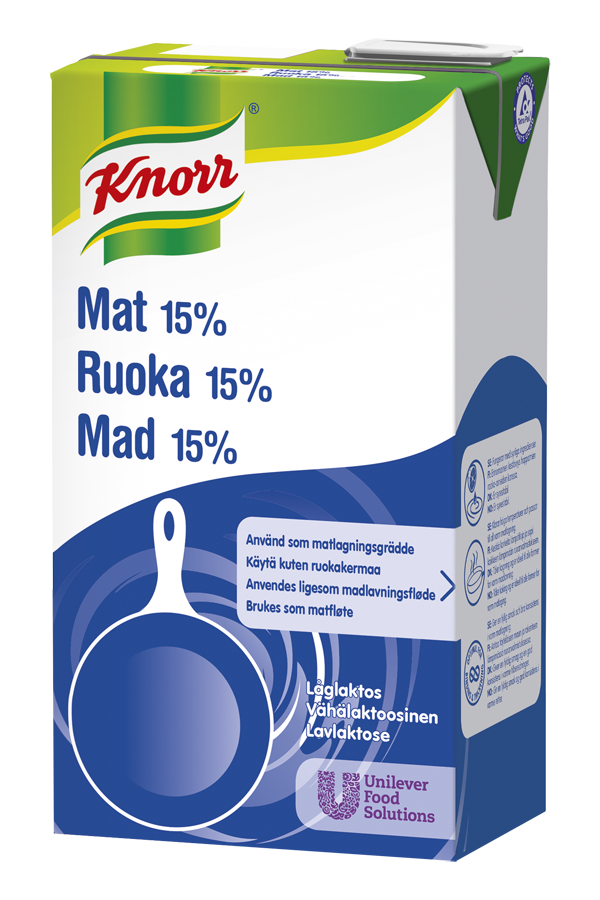 KNORR Ruoka 15 % 1L
