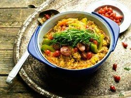 Kanaa ja riisiä brasilialaisittain, Guisado de Galinha