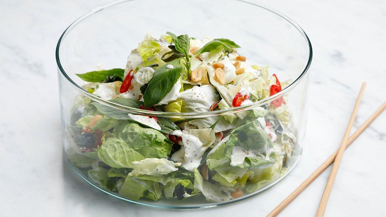 Asian caesarsalaatti – Resepti