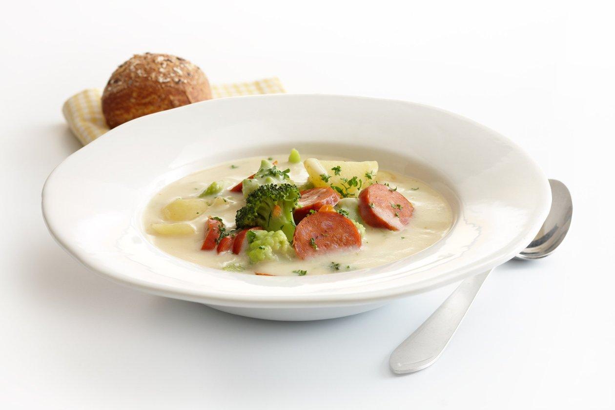 Broccoli-choritzokeitto, Ilmastoreilua ruokaa – Resepti