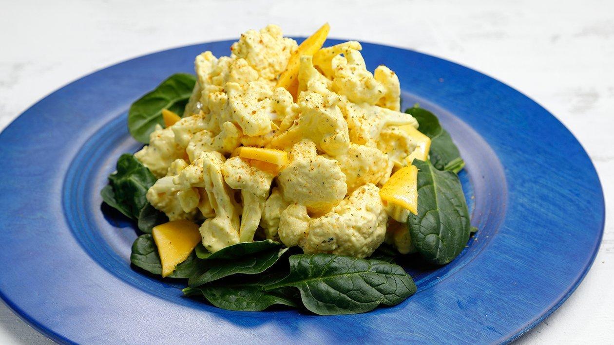 Curry-kukkakaalisalaatti – Resepti