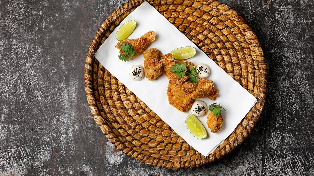 Hot Orient fried chiken – Resepti
