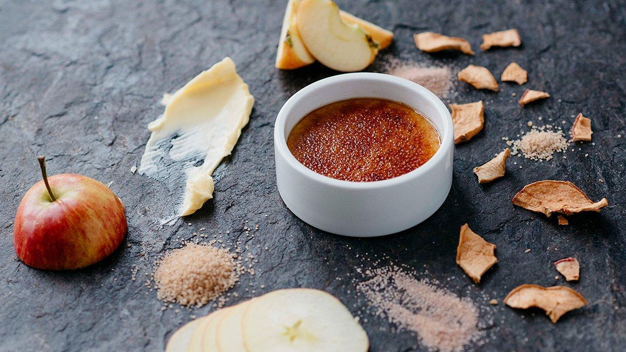 Inkivääri-uuniomena Crème Brûlée – Resepti