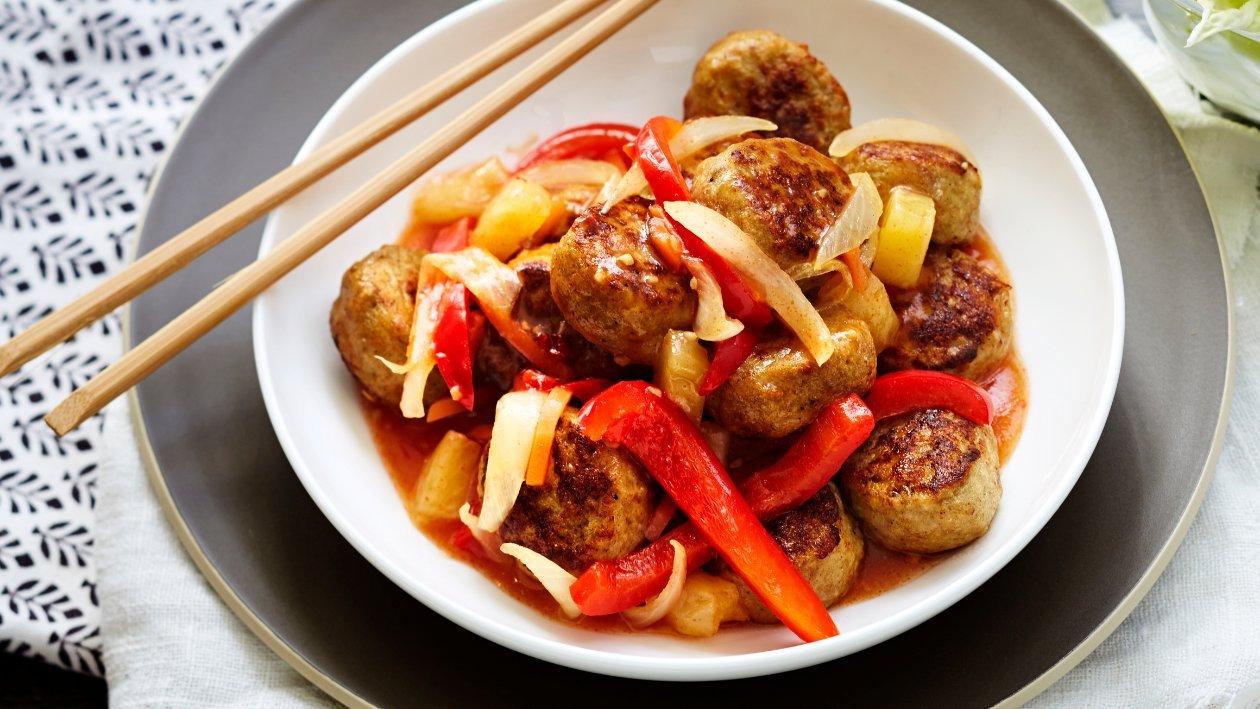 Kanapullat Sweet & Sour, Kiina – Resepti