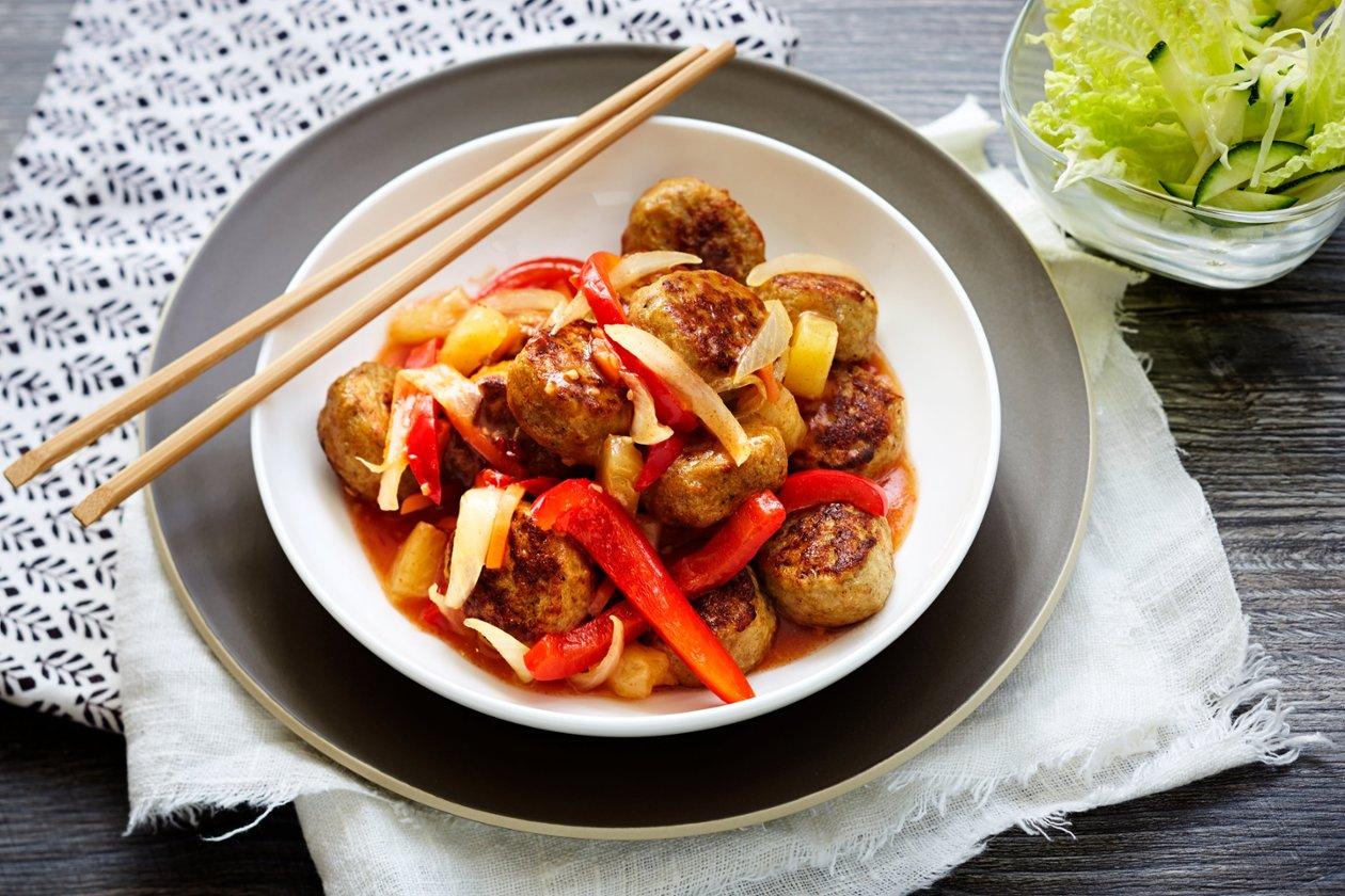 Kanapullat Sweet & Sour, Kiina_Kylmävalmistus – Resepti