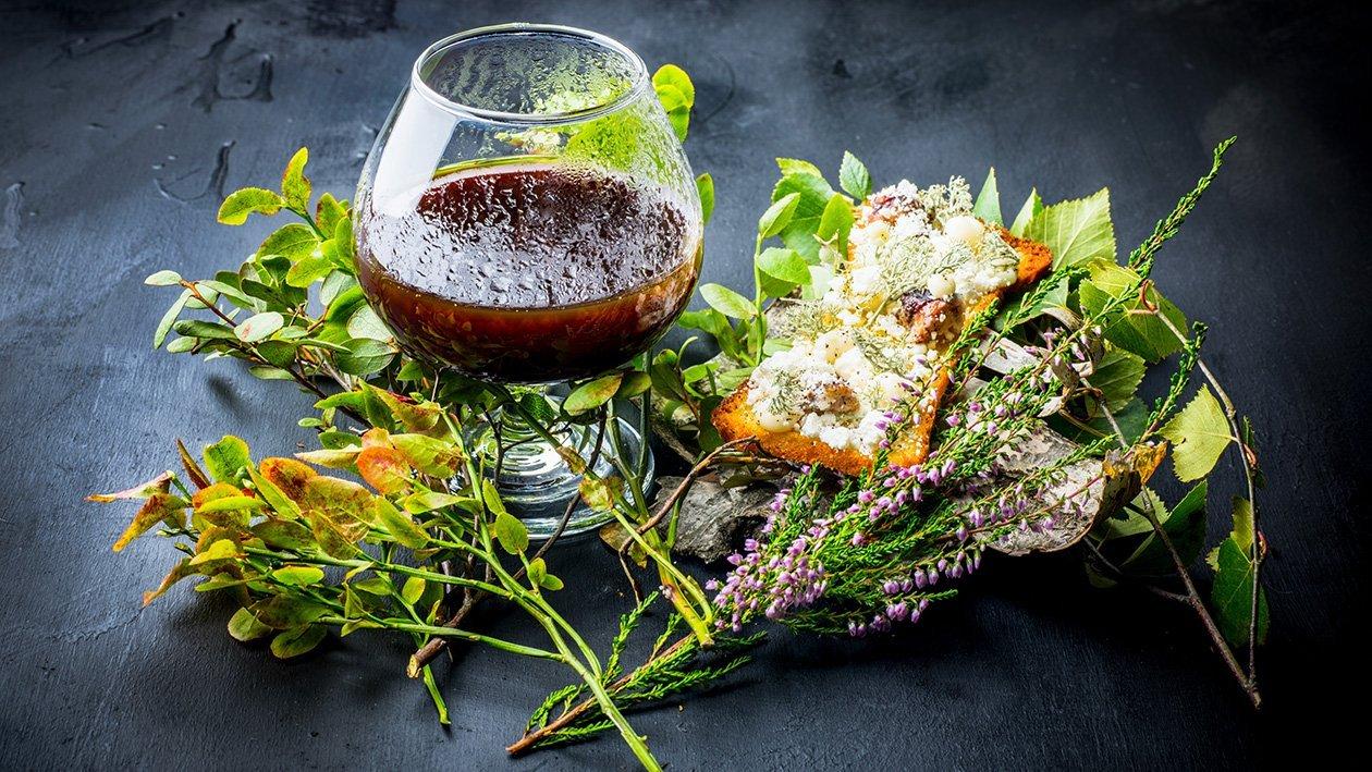 Karhunlaukalla maustettua riistalientä ja jäkäläbriossia – Resepti