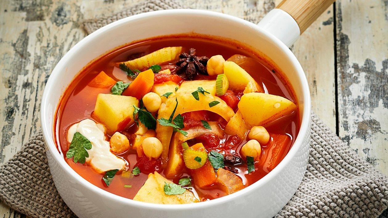 Kasvis-bouillabaisse – Resepti