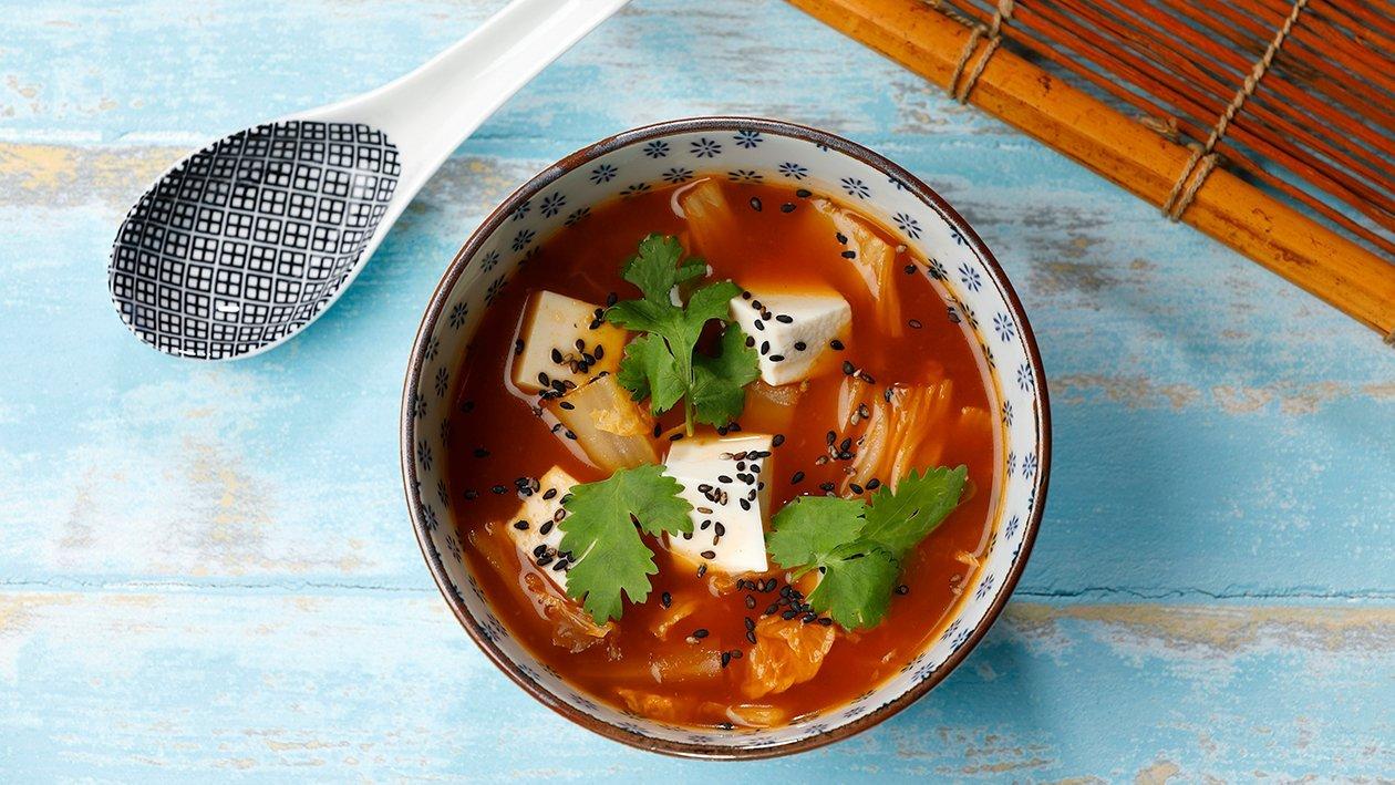 Kimchikeitto – Resepti