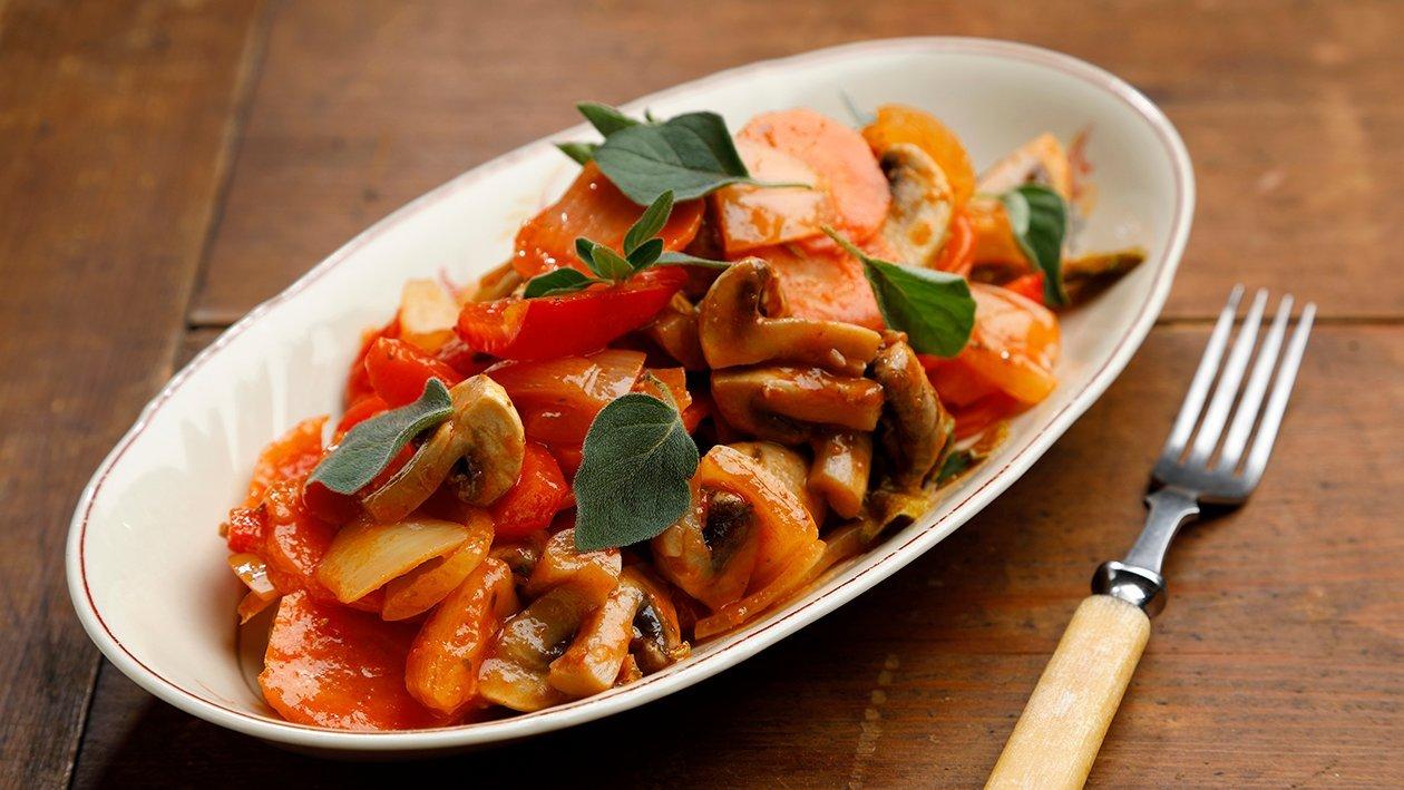 Kreikkalaiset kasvikset – Resepti