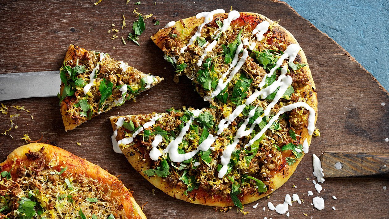 Manakish, pizza lähi-idän tapaan – Resepti