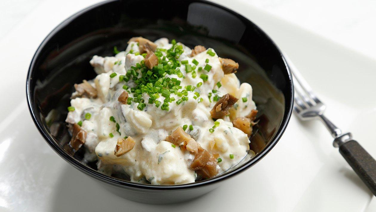 Metsäsieni-perunasalaatti  – Resepti