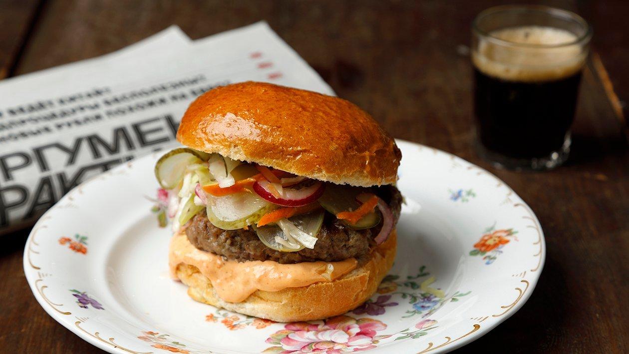 Moscow Hamburger – Resepti