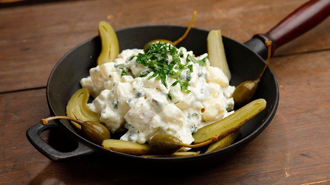 Perinteinen perunasalaatti – Resepti