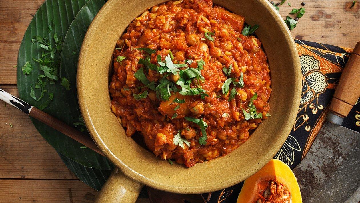 Pohjoisafrikkalainen harira-kasvispata – Resepti