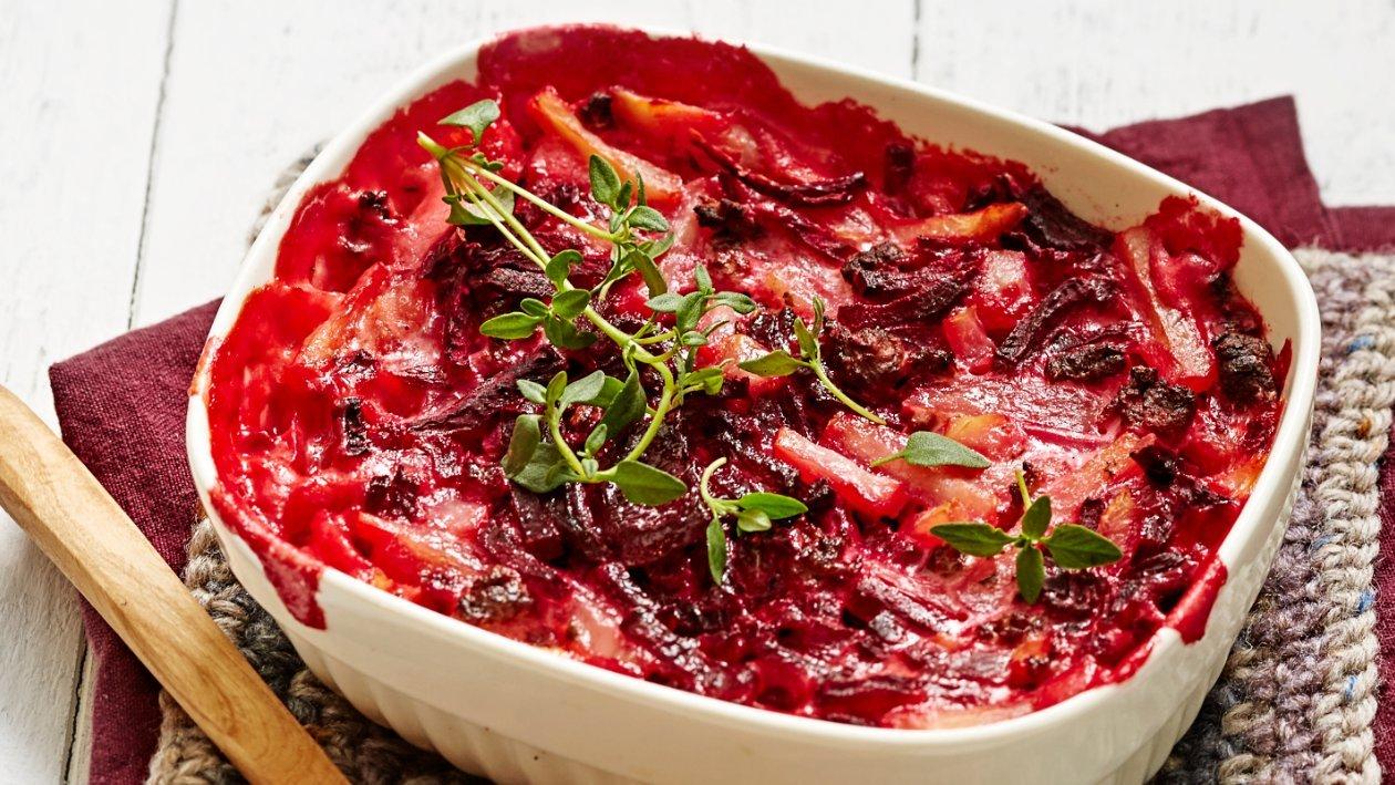 Punajuuri-soijakiusaus – Resepti
