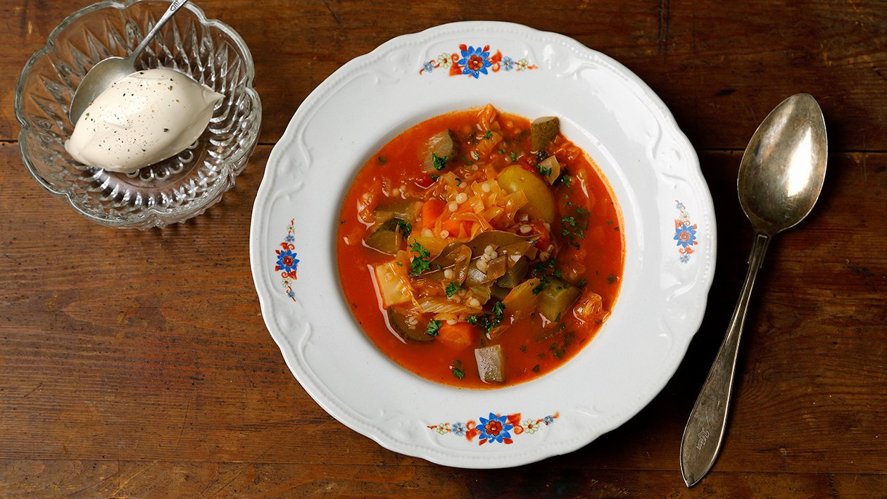Rassolnik - venäläinen kasviskeitto – Resepti