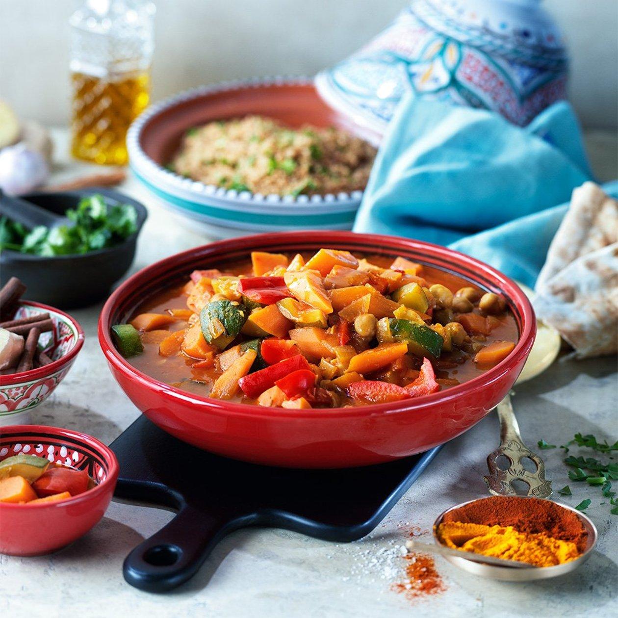 Tunisialainen kasviscouscous – Resepti