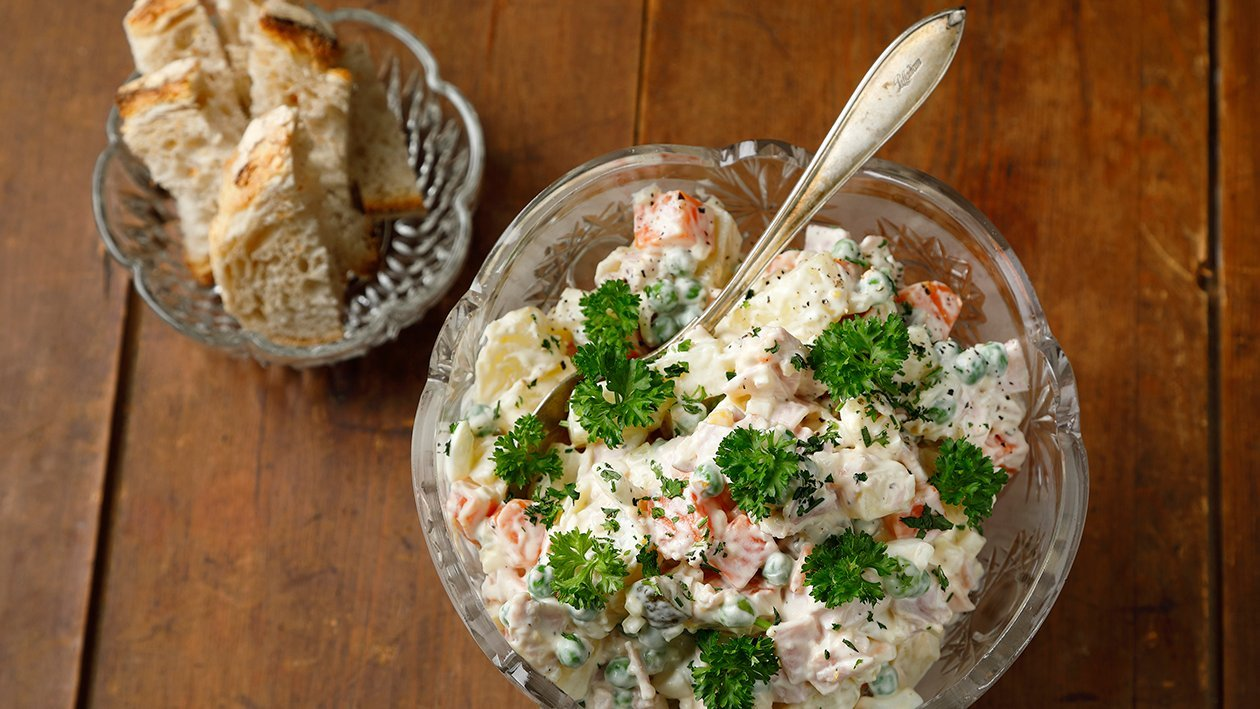 Venäläinen salaatti – Resepti