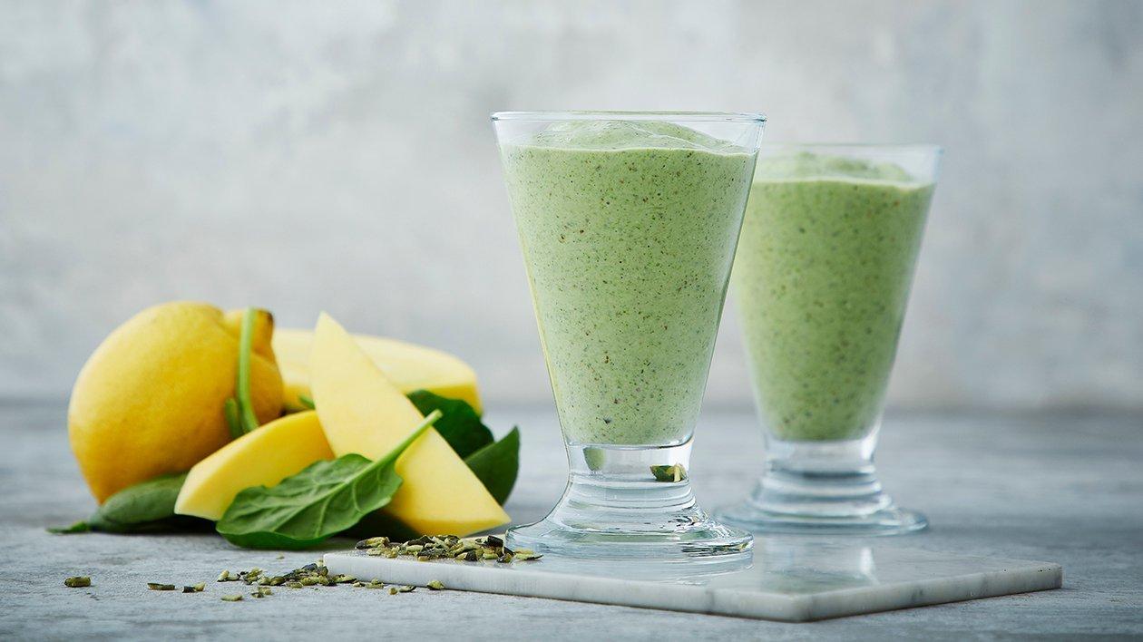 Vihreä power smoothie – Resepti