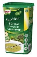 Knorr Supérieur Crème de 5 Légumes Verts