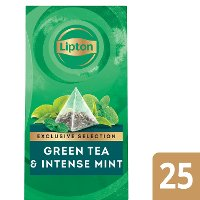 Lipton Exclusive Selection Thé Vert Menthe Intense
