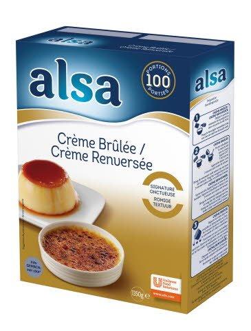 Alsa Crème Brûlée / Crème Renversée -