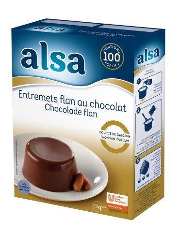 Alsa Flan au Chocolat
