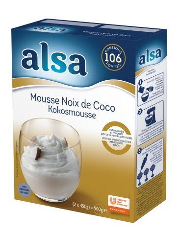 Alsa Mousse Noix de Coco