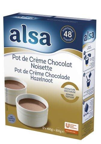 Alsa Pot de Crème Chocolat & Noisette