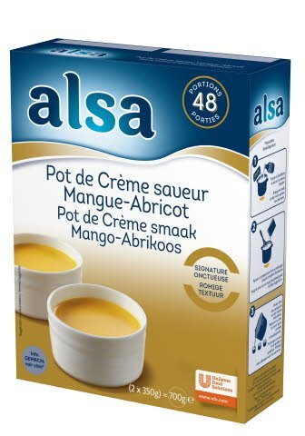 Alsa Pot de Crème Mangue & Abricot