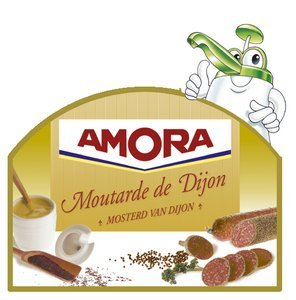 Amora sauce bar Moutarde de Dijon