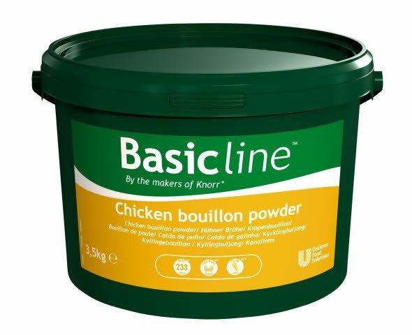Basicline Bouillon goût poule déshydraté