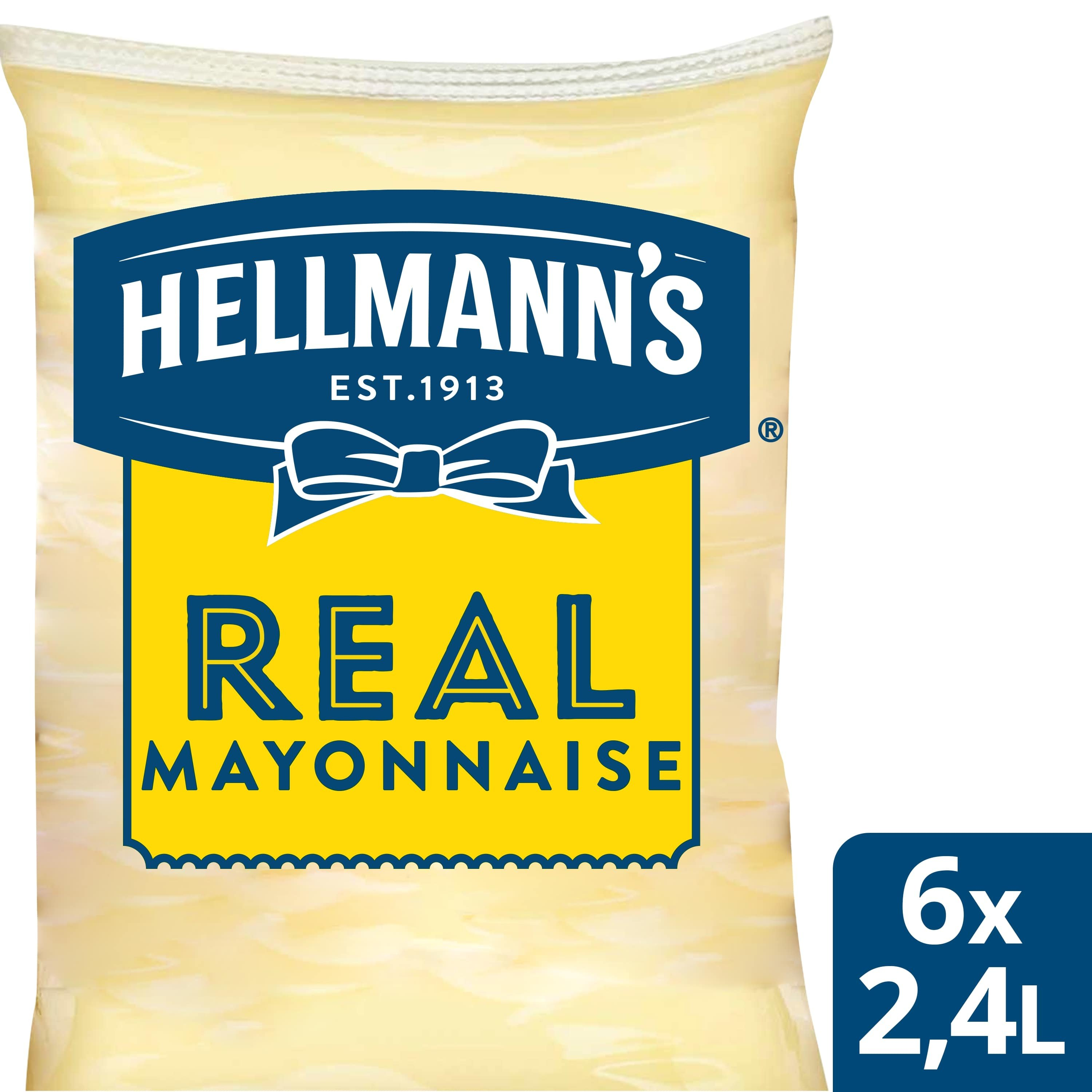 Hellmann's Real Mayonaise Pouch -