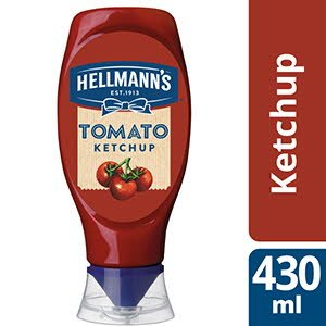 Hellmann's Tomato Ketchup squeeze 430 ml