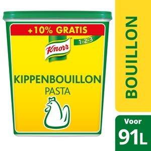 Knorr 1-2-3 Bouillon de Poule en Pâte 1,5 kg +10% gratis