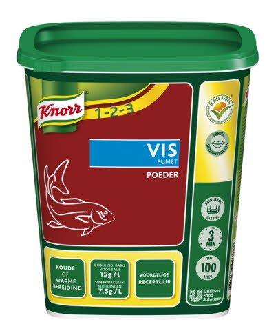 Knorr 1-2-3 Fonds Déshydraté Fumet de Poisson