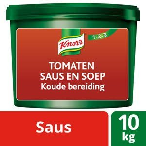Knorr 123 Base Froide Sauce et Velouté Tomate 10Kg