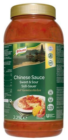 Knorr Asian Selection Chinese Sauce Aigre Douce -