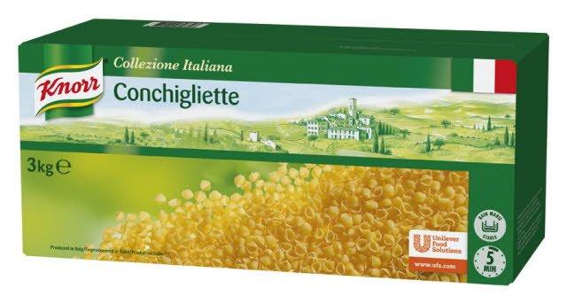 Knorr Collezione Italiana Pâtes Conchigliette