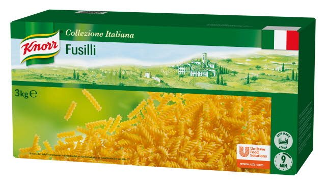 Knorr Collezione Italiana Pâtes Fusilli