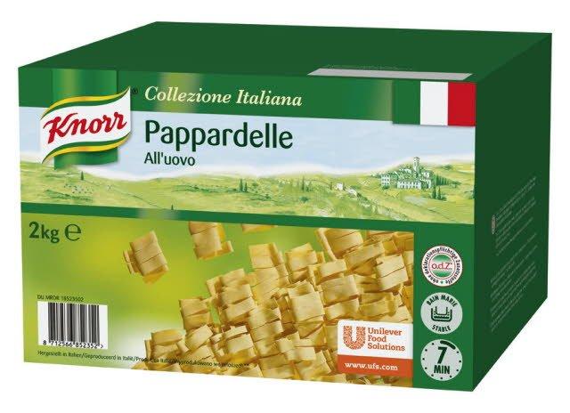 Knorr Collezione Italiana pâtes Pappardelle All'uovo