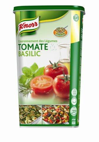 Knorr Couronnement des légumes Tomate Basilic