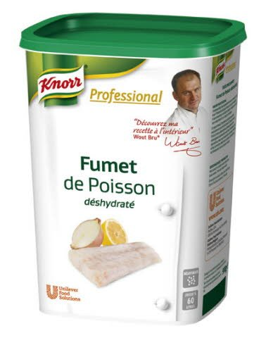 Knorr Professional Fonds déshydratés Fumet de Poisson