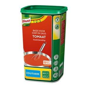 Knorr Tomate Base Soupe & Sauce pauvre en sel -